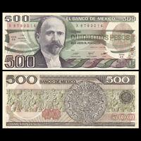 Mexico 500 Pesos, 1984, P-79b, UNC, Banknotes, Original