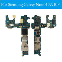 Para Samsung Galaxy Note 4 Original Placa Base Motherboard &N910F 32GB Libre