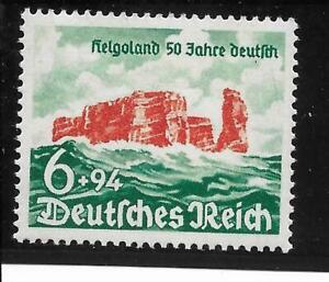 #0750# Deutsches Reich 1940: 50 Jahre Helgoland, Nr. 750 postfrisch **