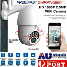 4X Zoom Wireless IP Camera Outdoor CCTV Security System HD 1080P WIFI PTZ 2.0MP