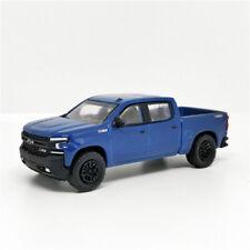Greenlight 1:64 2019 Chevrolet Silverado Blue No Box
