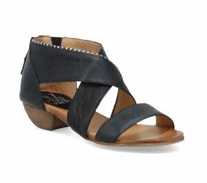 Miz Mooz New York City Womens Candace Sandal (Black, EUR 37 /US 6.5-7 Wide)