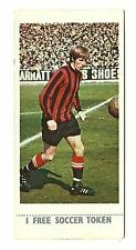 Lyons Maid Soccer Stars 1970 #20 Colin Bell Manchester Man City With Token
