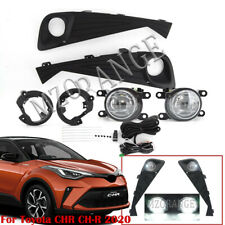 Front Fog Light Lamp For Toyota CHR CH-R 2020 2021 Wiring Switch Kit Accessories