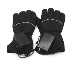 Battery Powered Heated Gloves Winter Outdoor Sports Hand Warmer Ski Snow Mittens