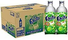 Coca-Cola Fanta Melon Soda 500ml x 24 Aluminum Bottle Limited Edition pop coke