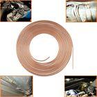 316 Od Copper Plating Brake Line Tubing 25ft Coil Roll Repair Tube Kit For Car