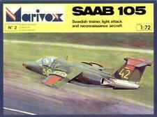 Marivox 1/72 SAAB 105 # 7202