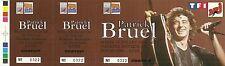 RARE / TICKET DE CONCERT - PATRICK BRUEL A LYON - 18 JUILLET 1995 / COMME NEUF
