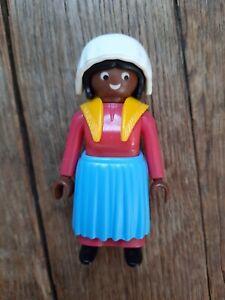 Playmobil Geobra 3770 voyageur lady gare Colorado Springs western train