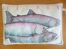 Potholder Alaska Red King Salmon Recipe Ray's Boathouse Seattle Chef Ludvigsen