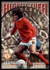 Futera Manchester United 1997 - George Best (Highest Ever Goal Scorers) No.86