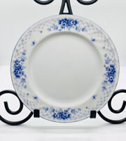 Cing Gourmets By Sango China Salad Dessert Plate Senshukai Blue Floral Design