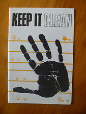 KEEP IT CLEAN..DIESEL ENGINE MAINTENANCE BOOKLET..1970's..TRUCK..FAULT DIAGNOSIS