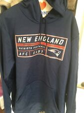 Majestic New England Patriots Hooded Sweatshirt Mens XL Football