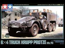 TAMIYA 1/48 scale German 6x4 Truck Krupp Protze (Kfz.70) #32534