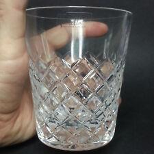 12 oz Violetta Whiskey Crystal Tumbler 24% Lead Hand Cut Made in Poland