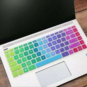 Rainbow Laptop Silicone Keyboard Protector Skin Cover For Hp Pavilion Laptop hp