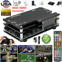 OSSC HDMI Converter Kit for Retro Game Consoles PS1 2 Xbox Sega Nintendo 2021