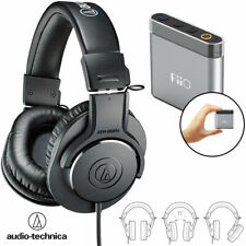Audio-Technica M20x Professional Monitoring Headphones + FiiO A1 Headphone Amp