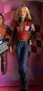 Jeff Gordon NASCAR 2007 Barbie Doll PINK label— BOX DMG—Perfect Doll Cert Incl