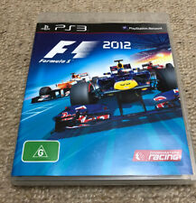 F1 Formula 1 2012 PS3 Playstation 3 Complete INCL DLC VGC Mint Disc