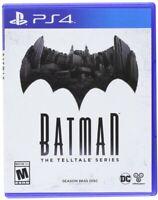 PLAYSTATION 4 PS4 GAME BATMAN THE TELLTALE SERIES SEASON PASS DISC NEW SEALED
