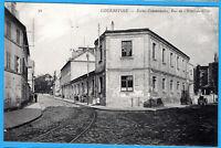 CPA 92 COURBEVOIE - ECOLES COMMUNALES, RUE DE L'HOTEL DE VILLE