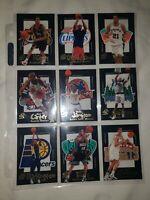 Kobe Bryant, Vince rookie Skybox full set of 15 1998-99 Generation E-x Die Cut
