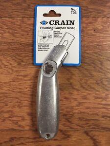 Crain 726 Carpet Flooring Knife