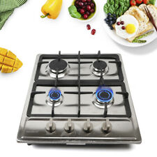 4 Burners Built-in Gas Cooktop Gas Stove Kitchen Cooktop 58*50cm Stainless Steel