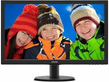 "Philips 243V5QHABA 24"" LED LCD Computer Monitor FHD 1080P 16:9 HDMI DVI VGA VA"
