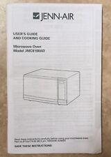 Jen-Air User's And Cooking Guide / Manual for Microwave Oven Model JMC8100AD