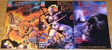 Bram Stoker's Burial of the Rats #1-3 VF/NM complete series roger corman's comic