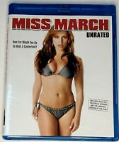 Miss March - UNRATED (Blu-ray) BRAND NEW & FACTORY SEALED!