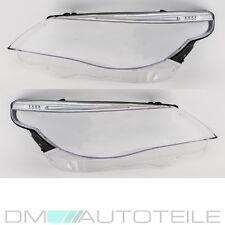BMW E60 E61 Scheinwerferglas Streuscheibe Re. Li. 03-07 LED Standlicht +Garantie