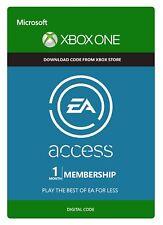 Ea Access 1 mese adesione abbonamento annuale per Microsoft Xbox One IT
