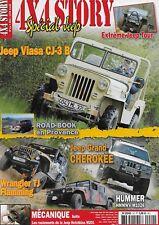 4x4 STORY N° 20 / JEEP GRAND CHEROKEE - HUMMER HMMWV M1026 - WRANGLER TJ