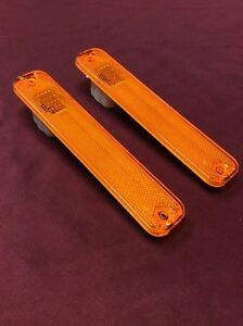 1973-1979 FORD F SERIES TRUCK & 78-79 BRONCO FRONT FENDER MARKER LIGHT LENS SET