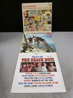 Classic Vinyl Records Beach Boys Surf Music  Best   All Summer Long  Summer Days