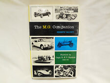 THE MG COMPANION T-Series Reference Manual Book Service History Guide RACING