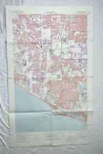 New ListingNewport Beach Quadrangle California 1972 Original Vintage Usgs Topo Map Ca Dwr