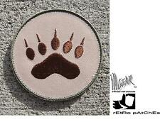 ill Gear eXtInCt Round Multi-Cam Bear Paw Tracker  Patch  old school
