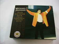 MICHAEL JACKSON - TOUR SOUVENIR PACK - 4 PICTURE CD BOX EXCELLENT