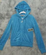 Juicy Couture Velour Hoodie Robertson Jacket Size S