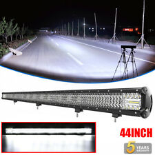 44INCH 3600W LED Light Bar Spot Flood Offroad SUV 4WD Driving Boat Car Truck 42""