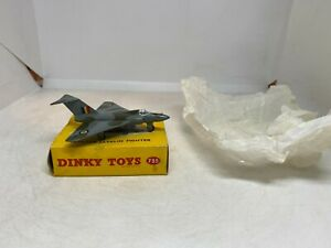 Dinky Toys 735 Gloster Javelin Fighter Boxed