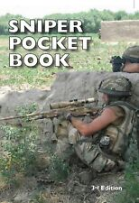 SNIPER POCKET BOOK - 3rd Edition 2018 Signed by Frank Fletcher