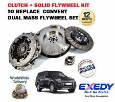 FOR MITSUBISHI SHOGUN PAJERO 3.2 DID 2000-> NEW CLUTCH + FLYWHEEL CONVERSION KIT