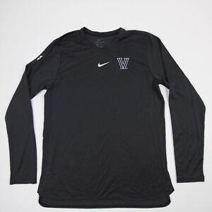 Villanova Wildcats Nike Dri-Fit Long Sleeve Shirt Men's Charcoal New with Tags